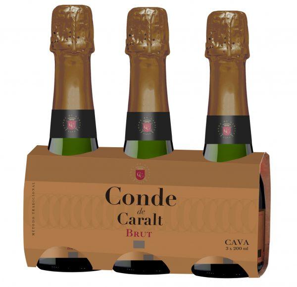 CONDE DE CARALT PACK 3 bot. 20 cl.